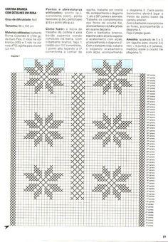 cortinas de croche para quarto com graficos - Pesquisa Google