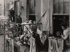 Conditions of overcrowding and poor sanitation in tenement housing helped fuel the smallpox outbreaks in the Northeastern U.S. during the 1890s and into the early 1900s. Description from vaxtruth.org. I searched for this on bing.com/images