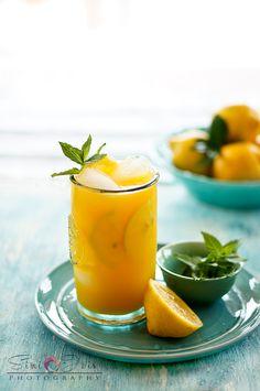 Lemonade, Mango lemonade, Mango ginger lemonade, recipe, fresh lemonade