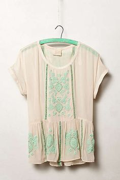 Anthropologie - Antala Peplum Top