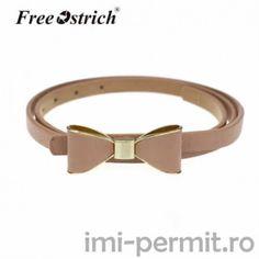 Curea roz din piele Belts For Women, Pattern Fashion, Belt Buckles, Pu Leather, Butterfly, Skinny, Womens Fashion, Model, Haute Couture