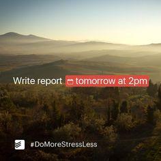 Escreva as datas e horas dos seus compromissos naturalmente, e deixe que Todoist agenda tudo para você! :) #produtividade #todoist