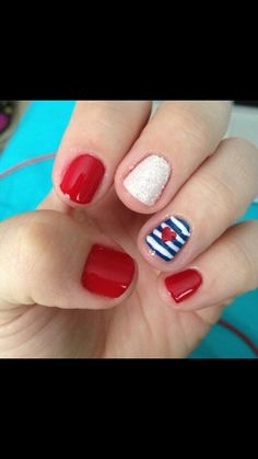 Forth of July nail design