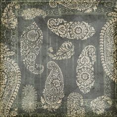 Photo about Antique grungy vintage paisley indian background design. Image of block, ethnic, graphic - 23162852 Textiles, Textile Patterns, Textile Prints, Print Patterns, Paisley Art, Paisley Design, Paisley Pattern, Fabric Design, Pattern Design