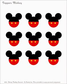 Le Candy Bar - Sweet Table etc: Free printable - thème Mickey Mickey E Minnie Mouse, Fiesta Mickey Mouse, Theme Mickey, Mickey Mouse Clubhouse Birthday, Mickey Mouse Parties, Mickey Party, Mickey Mouse Birthday, Mickey Mouse Banner, Elmo Party