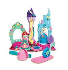 14 of the Newest Cinderella Princess Dolls, Toys and Games: Play-Doh Disney Princess Royal Palace Playset
