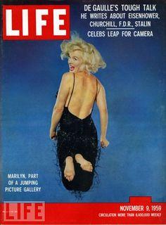 1959 Life Magazine cover w/ Marilyn Monroe