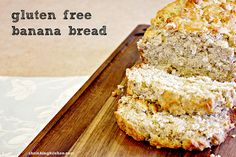 Deliciously moist, this gluten free banana bread is also dairy free AND vegan. Enjoy!