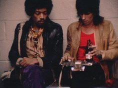 Campbells Loft  /    Jimi Hendrix ,Keith Richards , (rollingstone)