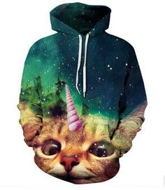 Sweatshirt Fall/Winter Casual animal hoodies 3D lion sweatshirt print lion head hip hop pullover hoodies street wear 21 style