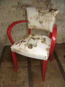 Christine ROSE - artisan tapissier - réalisations: Derniers travaux