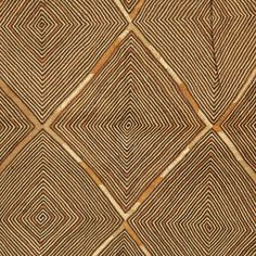 Africa | Kuba people, DR of Congo | Detail of a Kuba raffia textile