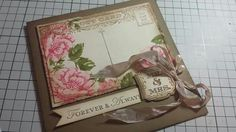 Wedding, stippled blossoms, label love, post card, seam binding, Stampin' Up! Xx
