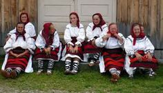 Women from Sacel, Maramures, Romania