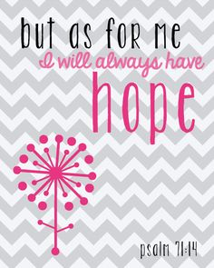Hope Printable -- Free Printable -- Kimberly Geswein Fonts