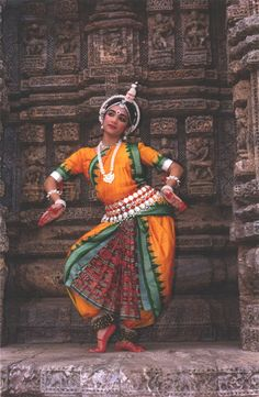 That's Chaitee Sengupta! I studied with her! Odissi by ~Halfrek    Tumblr