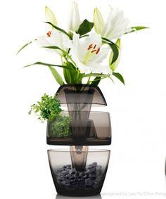 Stackable Vase par Leo Yiu