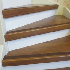 antislip rubber strip bruin voor veilige trap