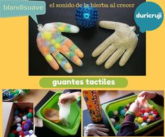 Guantes tactiles :El sonido de la hierba al crecer