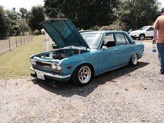 Datsun 510 at old school reunion