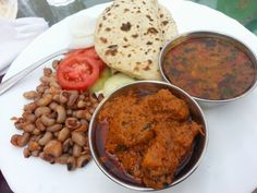 yummicious #Sindhi meal of #Dhal, #kidney beans and Jackfruit vegetable...recipe in my book #SindhiCuisine