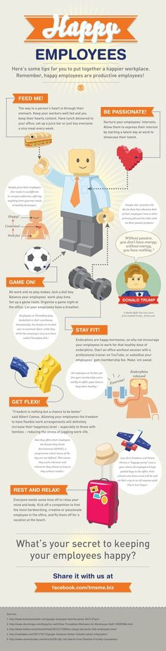 Employee Engagement, Management, and Motivation: Secret to Keeping Your Employees Happy Infographic
