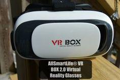 AllSmartLife® VR BOX 2.0 Virtual Reality Glasses #VRheadset GIVEAWAY