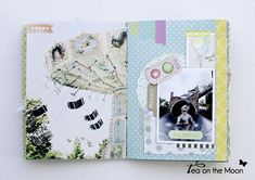 mini album scrapbook Paris 4
