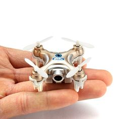 Cheerson CX-10W CX10W Mini Wifi FPV With Camera 2.4G 4CH 6 Axis LED RC Quadcopter Sale - Banggood.com