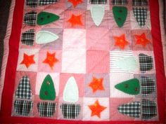 Patchwork Tree Skirts, Advent Calendar, Christmas Tree, Holiday Decor, Home Decor, Scrappy Quilts, Homemade Home Decor, Xmas Tree, Xmas Trees