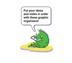 Feel like your thoughts are jumbled? Want to express them clearly, then use these graphic organizers to sort them.