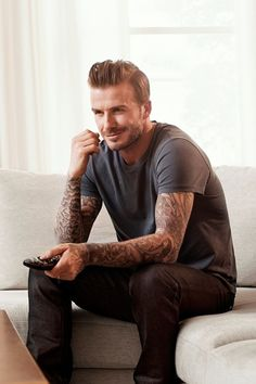 David Beckham's new Sky advert - I need to work out in order that i can get a man like him (and blah blah blah have a good personality)