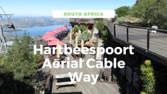Hartbeespoort Aerial Cable way is an hour's drive from Johannesburg and has the best views of Hartbeespoort dam. It is also the only cable car near Johannesburg.   Discover more about this amazing place. #southafrica #pretoria #johannesburg #hartbeespoort Pretoria, Africa Travel, Guide Book, Nice View, Travel Guide, South Africa, The Good Place, Cable, Amazing