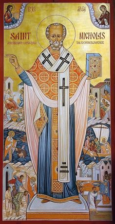 Saint Nicholas of Myra Resource Page Saint Nicholas, Animals, Saints, Animales, Animaux, Animal, Animais