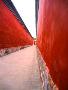Beijing Forbidden City - Red Walls