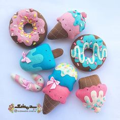Kids Crafts, Felt Crafts Diy, Foam Crafts, Felt Diy, Diy Arts And Crafts, Felt Cake, Felt Crafts Patterns, Felt Templates, Felt Food