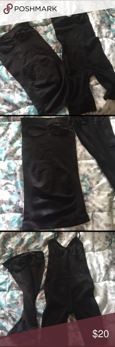 2 set, Body shapers Bundle of joy! Use as inner for fitted dress or jumpsuit to help slim the body-looking sexy and fab! In very good condition! Intimates & Sleepwear Shapewear