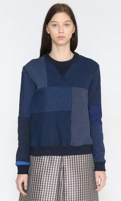 Recycled Patchwork Sweatshirt