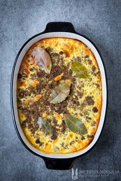 Bobotie - classic South African recipe made with beef mince, spices & nuts - Recipes Healthy Meat Recipes, Nut Recipes, Curry Recipes, Gourmet Recipes, Cooking Recipes, Oven Recipes, Recipies, Mexican Recipes, Minced Beef Recipes