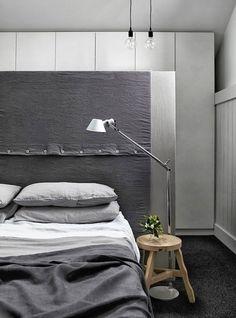 Paluu Helsinkiin: vanhempien makuuhuone