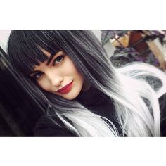 @enola_jay In her new Lush Wigs Silver Ombre  #lushwigs #lushwigssilverombre #wig www.lushwigs.com Available now