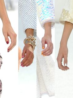 Chanel Spring 2012, Pretty nails and colors...fresh as spring flowers!