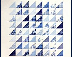Sweet and Simple Quilt Patterns by CottonPickinsQuilts on Etsy Asian Quilts, Easy Quilt Patterns, Quilting Ideas, Harlequin Romance, Half Square Triangles, Quilt Sizes, Quilt Top, Quilt Blocks, Craft Supplies