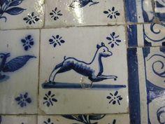 Portuguese Tiles (Azulejo). Elvas, Alentejo, Portugal