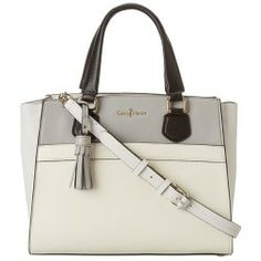 Cole Haan - Berkeley Small Satchel (ivory Multi) - Bags And Luggage