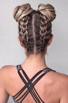 Cool hairstyle braids - new hairstyles- Coole Frisur Zöpfe – Neue Frisuren Cool hairstyle braids cool girl # - Pretty Braided Hairstyles, Cute Hairstyles For Medium Hair, Cute Simple Hairstyles, Braids For Short Hair, Trendy Hairstyles, Medium Hair Styles, Curly Hair Styles, Natural Hair Styles, Beautiful Hairstyles