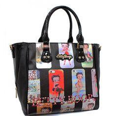 Official Betty Boop® Tote Style Handbag – Handbag Addict.com