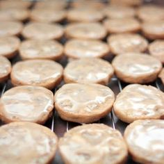 Glazed Maple-Pecan Cookies  (1) From: Under The High Chair, please visit