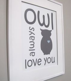 owls...would be such a cute gift