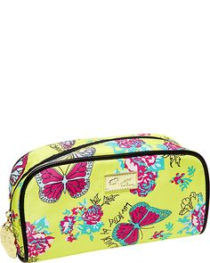LUV BETSEY POP COSMETIC CASE YELLOW